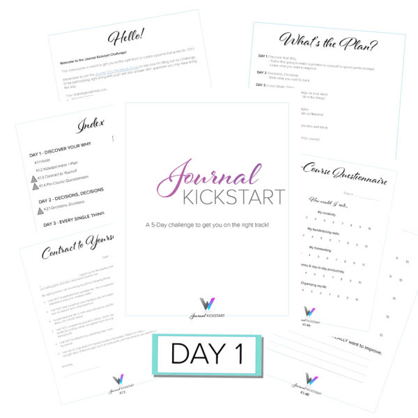Journal Kickstart Day 1