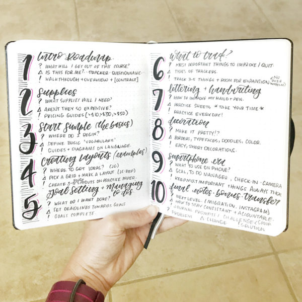 How to Start a Bullet Journal | Journal YOU